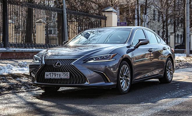 Тест драйв Lexus ES